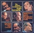 オイストラフの協奏曲集(ブラームス、メンデルスゾーン、チャイコフスキー、ドヴォルザーク) 独eurodisc 3118 LP レコード