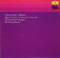 ゴットヴァルトのカーゲル/「ハレルヤ」ほか 独DGG 2899 LP レコード