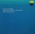 フォス/「パラダイム」、ヒラー/「アルゴリズム」ほか 独DGG 2899 LP レコード