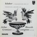 グリュミオーのシューベルト/ヴァイオリンソナタ集 蘭PHILIPS 2899 LP レコード