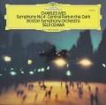 小澤のアイヴス/「宵闇のセントラルパーク」&交響曲第4番 独DGG 2823 LP レコード