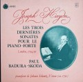 スコダのハイドン/ピアノソナタ第60、61&62番 仏ASTREE 2823 LP レコード