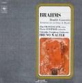 フランチェスカッティ、フルニエ&ワルターのブラームス/二重協奏曲 仏CBS 2823 LP レコード