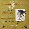 フルニエ&クーベリックのドヴォルザーク/チェロ協奏曲 英DECCA 2810 LP レコード
