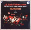 ゲーベル&ムジカ・アンティクヮ・ケルンのバッハ/ヴァイオリンソナタ集 独ARCHIV 3005 LP レコード