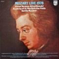 ブレンデル、ノーマン&マリナーのモーツァルト・ライヴ1978 蘭PHILIPS 3034 LP レコード