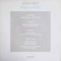 クレーメル、シュニトケらによるペルト/タブラ・ラサほか 独ECM NEW SERIES 2932 LP レコード