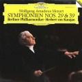 カラヤンのモーツァルト/交響曲第29&39番 独DGG 3005 LP レコード