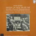 ルーラントのデ・プレ/ミサ「ラ、ソ、ファ、レ、ミ」ほか 蘭PHILIPS(SEON) 3031 LP レコード