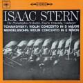 スターン&オーマンディのメンデルスゾーン&チャイコフスキー/ヴァイオリン協奏曲集 英CBS 3034 LP レコード