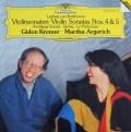 クレーメル&アルゲリッチのベートーヴェン/ヴァイオリンソナタ第4&5番「春」 独DGG 3005 LP レコード