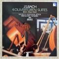ゲーベル&ムジカ・アンティクヮ・ケルンのバッハ/管弦楽組曲集(第1〜4番全曲) 独ARCHIV 3031 LP レコード