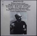 ワルターのモーツァルト/後期交響曲集(リハーサル風景付) 独CBS 3005 LP レコード
