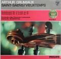 グリュミオー&ロザンタルのサン=サーンス/ヴァイオリン協奏曲第3番ほか 蘭PHILIPS 2926 LP レコード