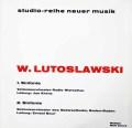 クレンツのルトスワフスキ/交響曲第1番ほか 独WERGO 3034 LP レコード