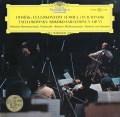 ロストロポーヴィチ&カラヤンのドヴォルザーク/チェロ協奏曲ほか 独DGG 2930 LP レコード