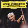 バーンスタインのブラームス/交響曲第4番 独DGG 3031 LP レコード