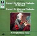シュミット&リステンパルトのシュターミッツ&ツェルター/ヴィオラ協奏曲集 独Columbia 2908 LP レコード
