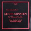 ホイトリンク&ハイラーのバッハ/ヴァイオリンとチェンバロのためのソナタ集 独Camerata 2932 LP レコード