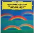 カラヤンのマーラー/交響曲第4番 独DGG 3031 LP レコード