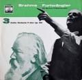 フルトヴェングラーのブラームス/交響曲第3番 独EMI 2908 LP レコード