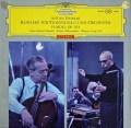 【赤ステレオ・オリジナル盤】 フルニエ&セルのドヴォルザーク/チェロ協奏曲 独DGG 2926 LP レコード