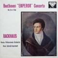【オリジナル盤】 バックハウス&イッセルシュテットのベートーヴェン/ピアノ協奏曲第5番「皇帝」 英DECCA 3005 LP レコード