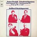 ジュリアード四重奏団のドヴォルザーク&スメタナ/弦楽四重奏曲集 独CBS 3034 LP レコード
