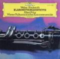 ウィーンフィル室内アンサンブルのウェーバー/クラリネット五重奏曲ほか 独DGG 2926 LP レコード