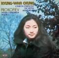 チョン&プレヴィンのプロコフィエフ/ヴァイオリン協奏曲第1&2番  独DECCA 2930 LP レコード