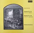 バックハウスのベートーヴェン/ピアノソナタ「ワルトシュタイン」&「熱情」 独DECCA 2930 LP レコード