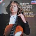 ハレル&マリナーのシューマン&サン=サーンス/チェロ協奏曲集 蘭DECCA 3031 LP レコード