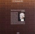 クナッパーツブッシュのブラームス/大学祝典序曲ほか管弦楽曲集 独DECCA 2932 LP レコード