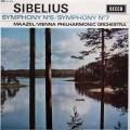 【オリジナル盤】マゼールのシベリウス/交響曲第5&7番 英DECCA 3005 LP レコード