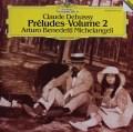 ミケランジェリのドビュッシー/前奏曲集第2巻 独DGG 2926 LP レコード