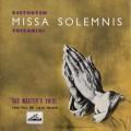 トスカニーニのベートーヴェン/ミサ・ソレムニス 英EMI 3034 LP レコード