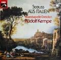 ケンペのR.シュトラウス/交響的幻想曲「イタリアより」 独EMI 3031 LP レコード