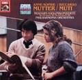 ムター&ムーティのモーツァルト/ヴァイオリン協奏曲第2&4番 独EMI  2930 LP レコード