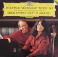 クレーメル&アルゲリッチのシューマン/ヴァイオリンソナタ第1&2番  独DGG 2926 LP レコード