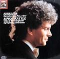 ラトルのシベリウス/交響曲第3&7番 独EMI 3031 LP レコード