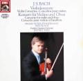 ツィンマーマン&テイトのバッハ/ヴァイオリン協奏曲ほか 独EMI 3031 LP レコード
