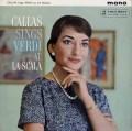 カラス、スカラ座で歌うヴェルディ 英Columbia 2930 LP レコード