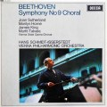 【オリジナル盤】 イッセルシュテットのベートーヴェン/交響曲第9番「合唱付き」 英DECCA 3005 LP レコード