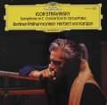 カラヤンのストラヴィンスキー/交響曲ハ調、弦楽のための協奏曲ニ調、ほか 独DGG 3034 LP レコード