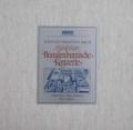 リヒターのバッハ/ブランデンブルク協奏曲全曲 独ARCHIV 3031 LP レコード