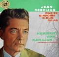 【ドイツ最初期盤】カラヤンのシベリウス/交響曲第2番 独Columbia 2926 LP レコード