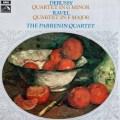 パルナン四重奏団のドビュッシー&ラヴェル/弦楽四重奏曲集 英EMI 2932 LP レコード