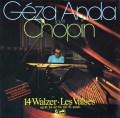 【テスプレス】 アンダのショパン/ワルツ集 独eurodisc 3019 LP レコード