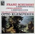 クレンペラーのシューベルト/交響曲第5&8番「未完成」 独EMI 2932 LP レコード