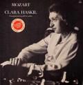 ハスキル&シューリヒトのモーツァルト/ピアノ協奏曲第9&19番 仏IPG 3019 LP レコード